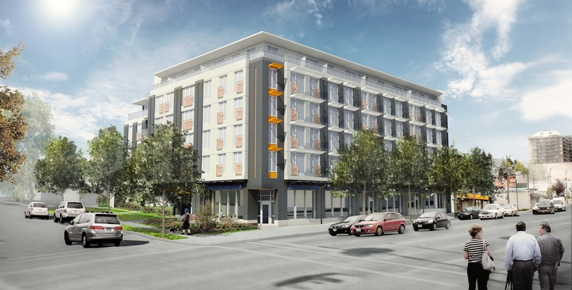 The Heights, 388 Skeena, Vancouver, BC - Canada's Largest Passive House Building